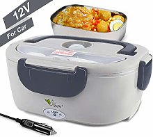 VOVOIR 12V Electric Heating Lunch Box Thermal