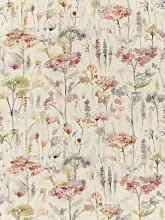 Voyage Hinton Poppy Furnishing Fabric