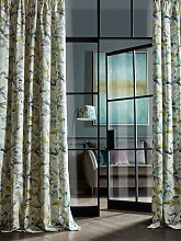 Voyage Naura Pair Lined Pencil Pleat Curtains,