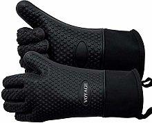 Voyage Premium Silicone Oven Gloves Set of