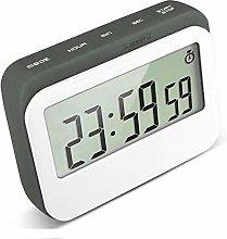 VPAL Digital Kitchen Timer 12/24 Hours Alarm Clock