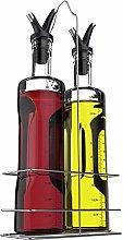 Vremi 17 oz Olive Oil and Vinegar Dispenser Set -