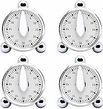 Vrttlkkfe 4 PCS Kitchen Timer,Countdown Loud Alarm