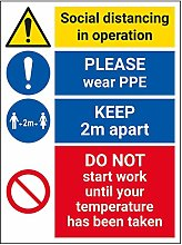 Vsafety SD In Operation - Wear PPE - Do Not Work -