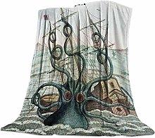 VSAT8SD Artistic Blanket, Kraken Ocean Giant