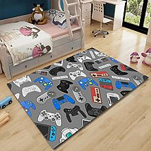 Vscdye Gamer Handle 3D Printing Carpet Cartoon