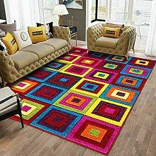 VSK Modern Area Carpet Hand Carved Multi Design