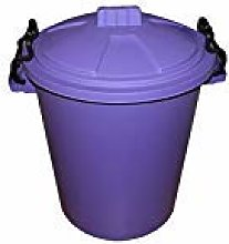 VSL 50 Litre Purple Plastic Outdoor Bin