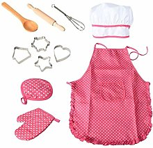 VSTAR66 Childrens Baking Clothes, 11 PCS DIY