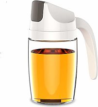 VUL Oil Dispenser, Auto Flip Olive Oil Glass