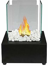 Vulcan Table top bioethanol Fireplace with a 6cm x