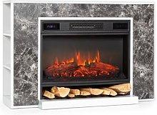 Vulsini Nightfall Electric Fireplace 1900 W LED