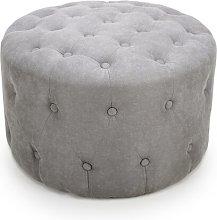 Vumera Pouffe Rosalind Wheeler Upholstery Colour: