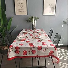 vvff Cherry Tablecloth Hotel Wedding Party Square