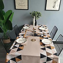 vvff Deer Tablecloth Cotton Hotel Picnic Family