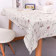 vvff Flower Print Decorative Table Cloth Lace