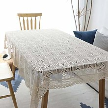vvff Hollow Decorative Table Cloth Lace Tablecloth