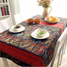 vvff Mayan Pattern Table Cloth Picnic Outdoor