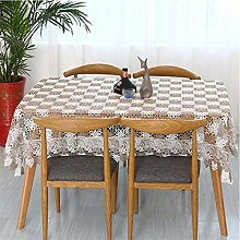 vvff Proud Rose Lace Tablecloth Table Cover