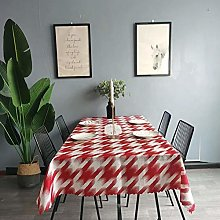 vvff Red Tablecloth Hotel Wedding Party Square