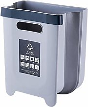 VVXXMO Folding Trash Can,Wall Mounted Waste