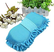 VWH Coral-chenille Cleaning Sponge With a Clean