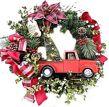 VWJFHIS Christmas Wreath Farmhouse Wedding Holiday
