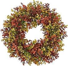VWJFHIS Paper Flower Wreath Field Round Handmade