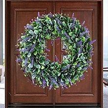VWJFHIS Wreath Artificial Wreath Door 40 Cm Wreath