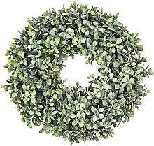 VWJFHIS Wreath Simulation Wreath Artificial Green