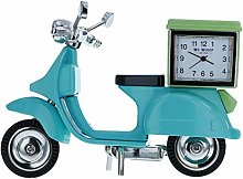 W M WIDDOP Blue Vespa Scooter with Green Box