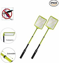W&TT Handheld Electric Fly Swatter 2019, 180°