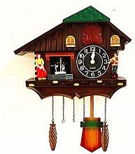 W.Z.H.H.H Wall Clock Northern Europe Rural Modern