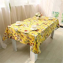 Wařm Chinese Style Table Cloth Cotton Tablecloth