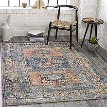Wabisa Printed Oriental Area Rug