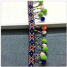 Wacemak1r Pom Pom Fringe Trim Sewing Ribbon