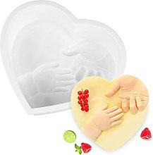 WACLT Silicone Baking Mold Heart- Shaped Cake