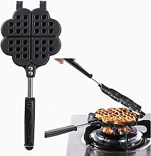 Waffle Iron Belgian Heart Waffle Maker Ideal for