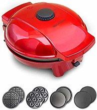 Waffle Maker, 4-in-1 Sandwich Maker, Portable Home