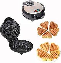 Waffle Maker Iron Heart Shaped Electric Machine