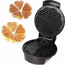 Waffle Maker Iron Machine, Heart Shaped, Electric