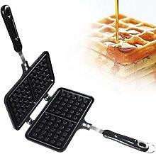 Waffle Maker, Non-Stick Cast Aluminum Waffle
