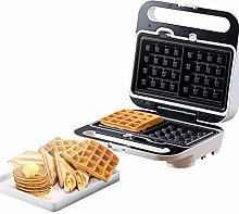 Waffle Maker, Sandwich with Non-Stick, Easy Clean