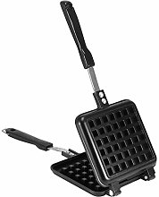 Waffle Maker, Waffle Iron Stove Top, Cast Aluminum