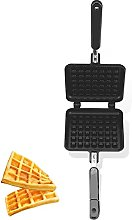 Waffle Maker, Waffle Irons Non-Stick with Double