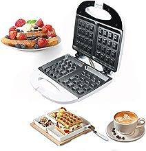 Waffle Maker with 2 Slice Non-Stick Coating and