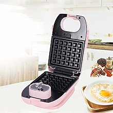 Waffle Maker with Removable Non-Stick Coating