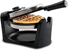 Waffle Maker with Removeable Drip Tray Folding