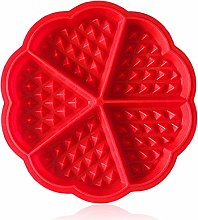 Waffle Maker, ZTSY Silicone Waffles Mould and