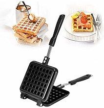 Waffle Pan, Aluminum Alloy Multifunctional Waffle